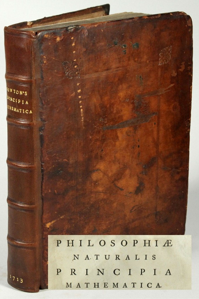 $35k copy of the Principia: Philosophiæ Naturalis Principia Mathematica by Sir Isaac Newton is the most expensive book sold on Biblio in 2015.
