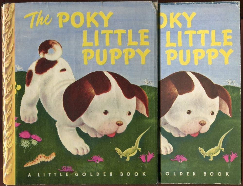 The Poky Little Puppy Golden Book
