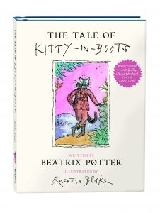 Quentin Blake illustrates Beatrix Potter book Kitty in Boots - Biblio.com and Fine Books Magazine